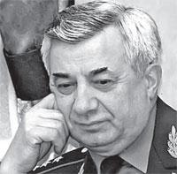 Леонтий Шевцов, генерал-полковник, заслуженный военный специалист