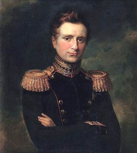 Вел. князь Михаил Павлович. (Худ. Джордж Доу) 1829 г