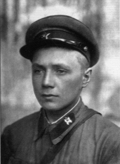 Владимир Михалкин (фото военного времени)
