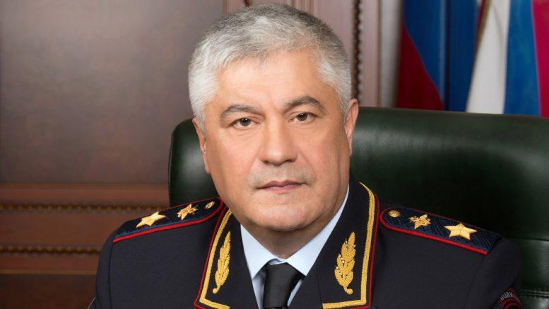 Генерал полиции Российской Федерации Владимир Александрович Колокольцев
