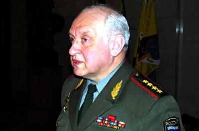 Генерал армии Яковлев Владимир Николаевич