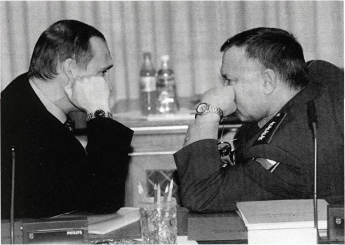 С Президентом Российской Федерации Владимиром Владимировичем Путиным .