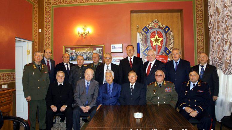 8 ноября 2016 года. Прием в Клубе военачальников Российской Федерации