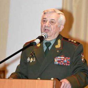 Вице-президент Клуба военачальников Российской Федерации генерал-полковник Шевцов Л.П.