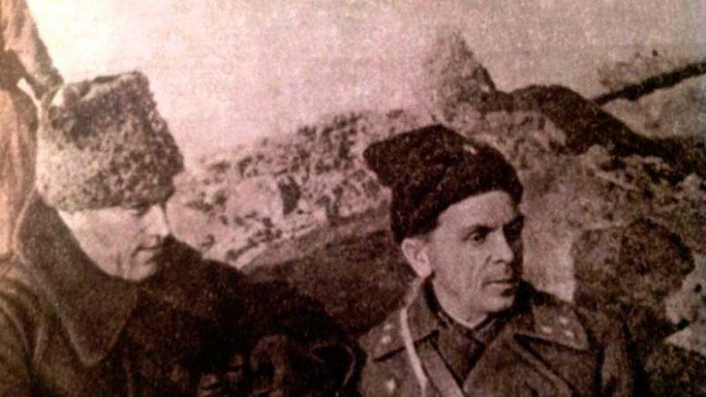 """""""Нельзя научиться любить живых, если не умеешь хранить память о мертвых"""", говорил Маршал Советского Союза К.К. Рокоссовский, рядом с которым почти всю войну прошёл и генерал П.И.Батов."""