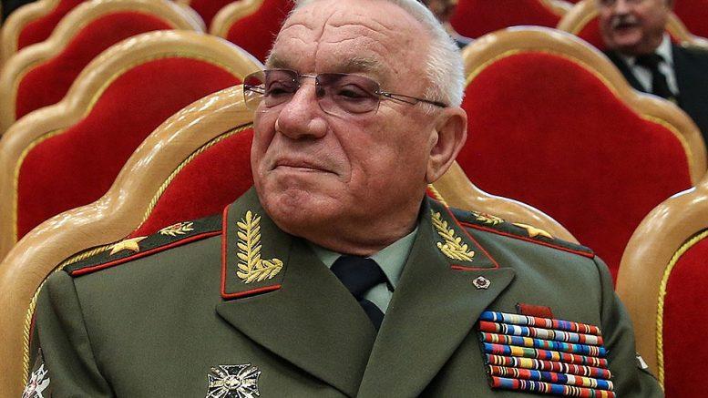 Председатель Клуба военачальников России, генерал армии Анатолий Куликов. Фото Валерий Шарифулин/ТАСС