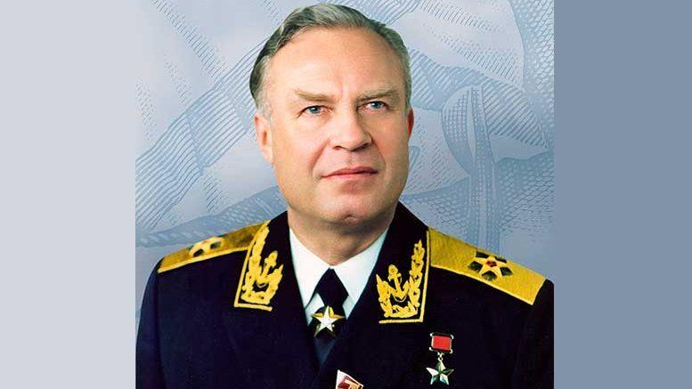 Адмирал флота Чернавин Владимир Николаевич