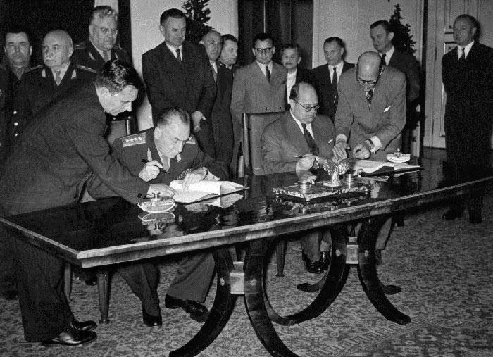 Подписание важных межправительственных соглашений.