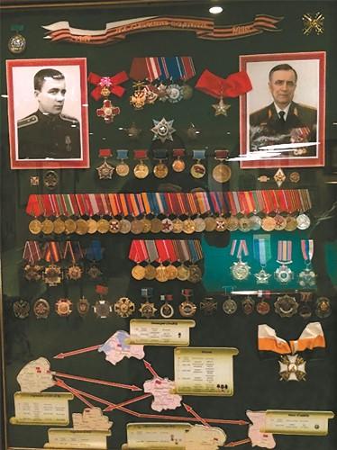 Все награды и боевой путь В.И. Исакова