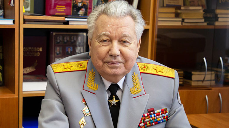 Генерал армии Ермаков Виктор Фёдорович