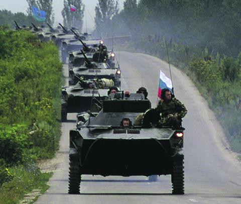 Внезапный бросок российских десантников на Приштину стал одной из вех в урегулировании Балканского конфликта.  Фото Reuters