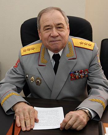 Генерал-полковник Лабутин Павел Алексеевич