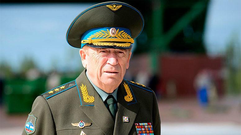Генерал-полковник Иванов Владимир Леонтьевич