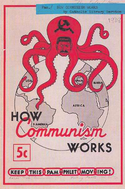 Коммунистические идеи пугали Запад куда сильнее, чем Гитлер.